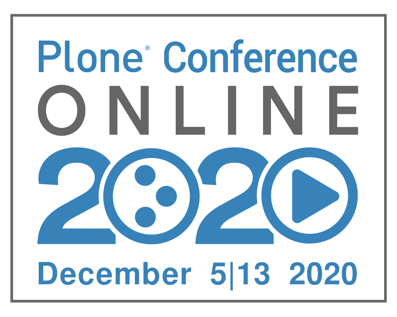 Plone Conference Online 2020, December 5-13, 2020