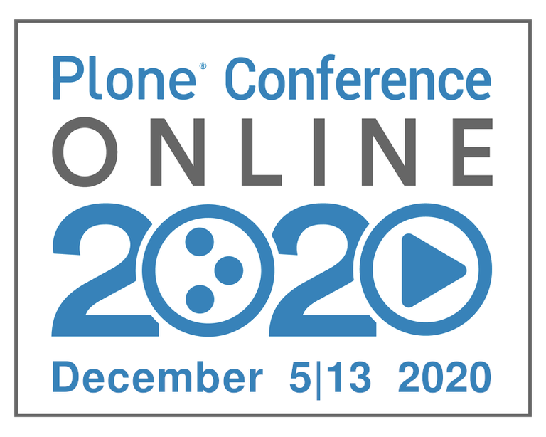 Plone Conference Online 2020